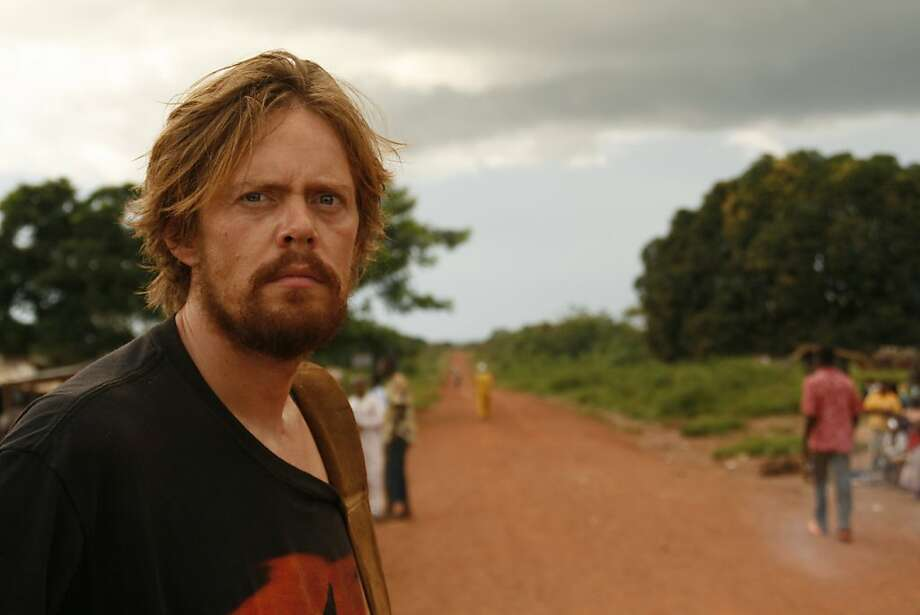 """Kris Marshall, left, appears in a scene from, """"OKA!"""" Photo: Olivia Bruynoghe, Roland Films"""