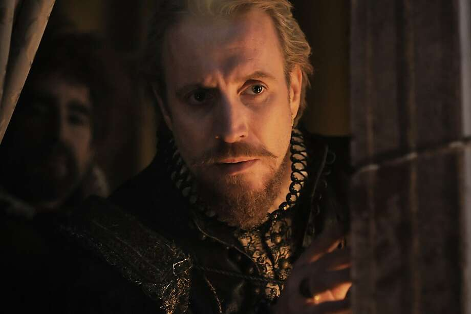 "In this film image released by Columbia Pictures, Rhys Ifans portrays the Earl of Oxford in a scene from ""Anonymous."" (AP Photo/Sony, Columbia Pictures, Reiner Bajo) Photo: Reiner Bajo, AP"