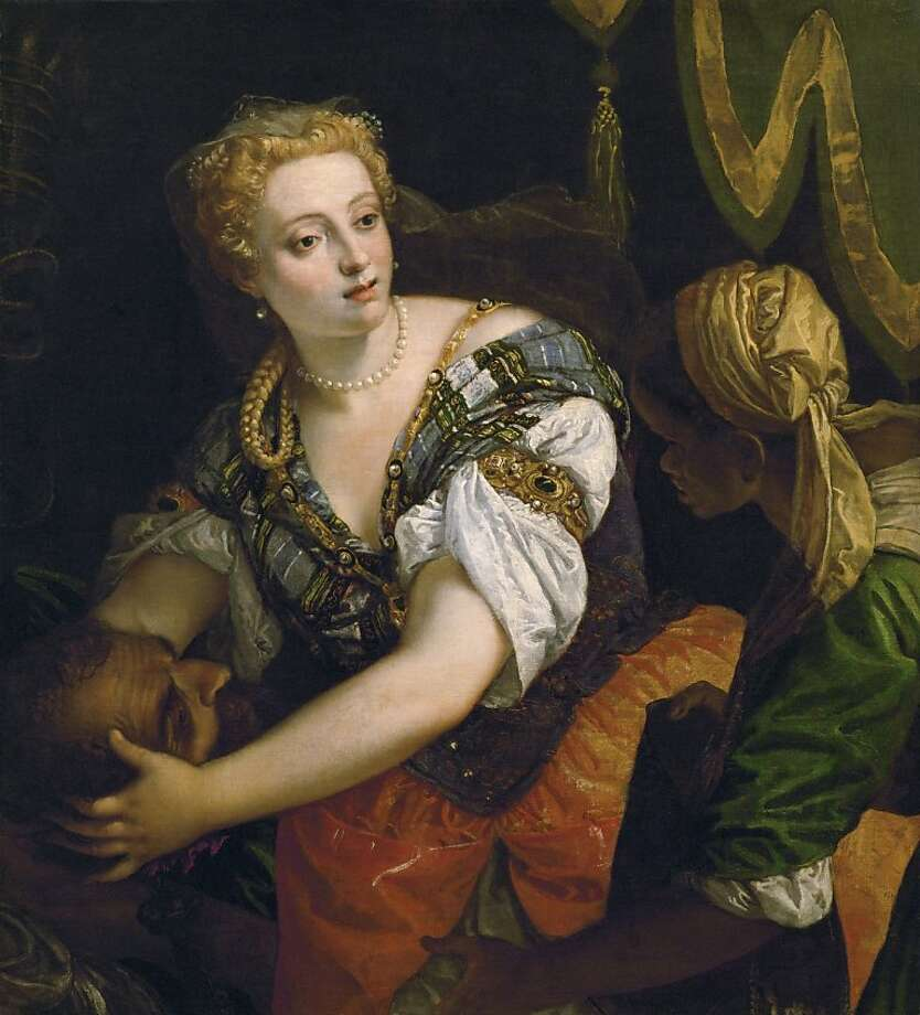 Paolo Caliari, called Veronese.  Judith with the Head of Holofernes.  ca. 1580. Oil on canvas.  Gemäldegalerie of the Kunsthistorisches Museum, Vienna. Photo: Veronese