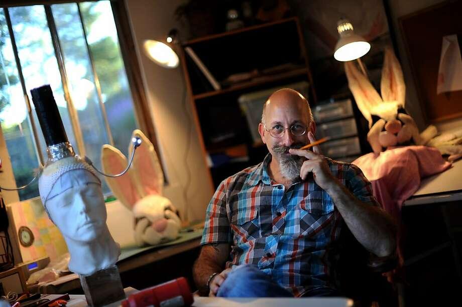 Theatrical set designer and prop master Jay Lasnik at his home studio in Cotati, California. October 13, 2011. Photo: Erik Castro, Special To The Chronicle