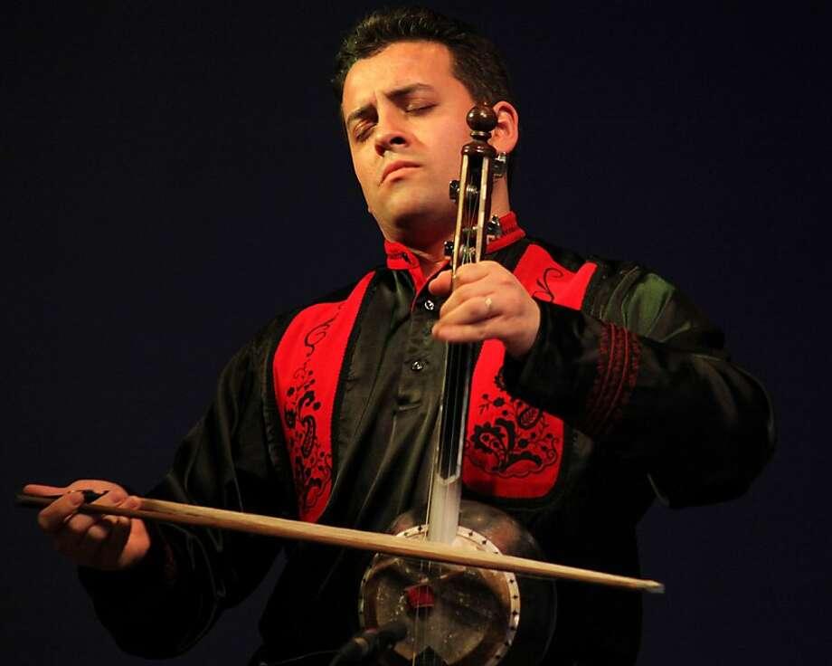 Azeri kamanche master Imamyar Hasanov Photo: The Hasanov Ensemble