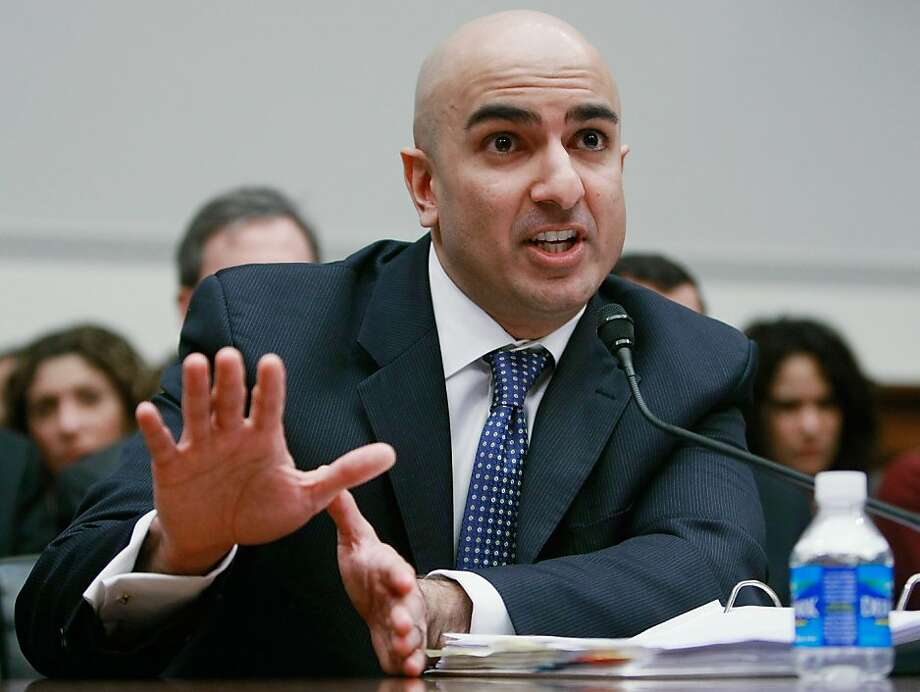WASHINGTON - DECEMBER 10:  Neel Kashkari, interim Assistant Treasury Secretary for Financial Stability and Assistant Secretary for International Affairs, participates in a House Financial Services Committee hearing on Capitol Hill December 10, 2008 in Washington, DC. The committee is hearing testimony on concerns regarding the Treasury Departments oversight regarding the troubled assets relief program (TARP).  (Photo by Mark Wilson/Getty Images) Ran on: 12-11-2008 Neel Kashkari, director of the Treasury office that oversees the bailout, backs the program. Photo: Mark Wilson, Getty Images