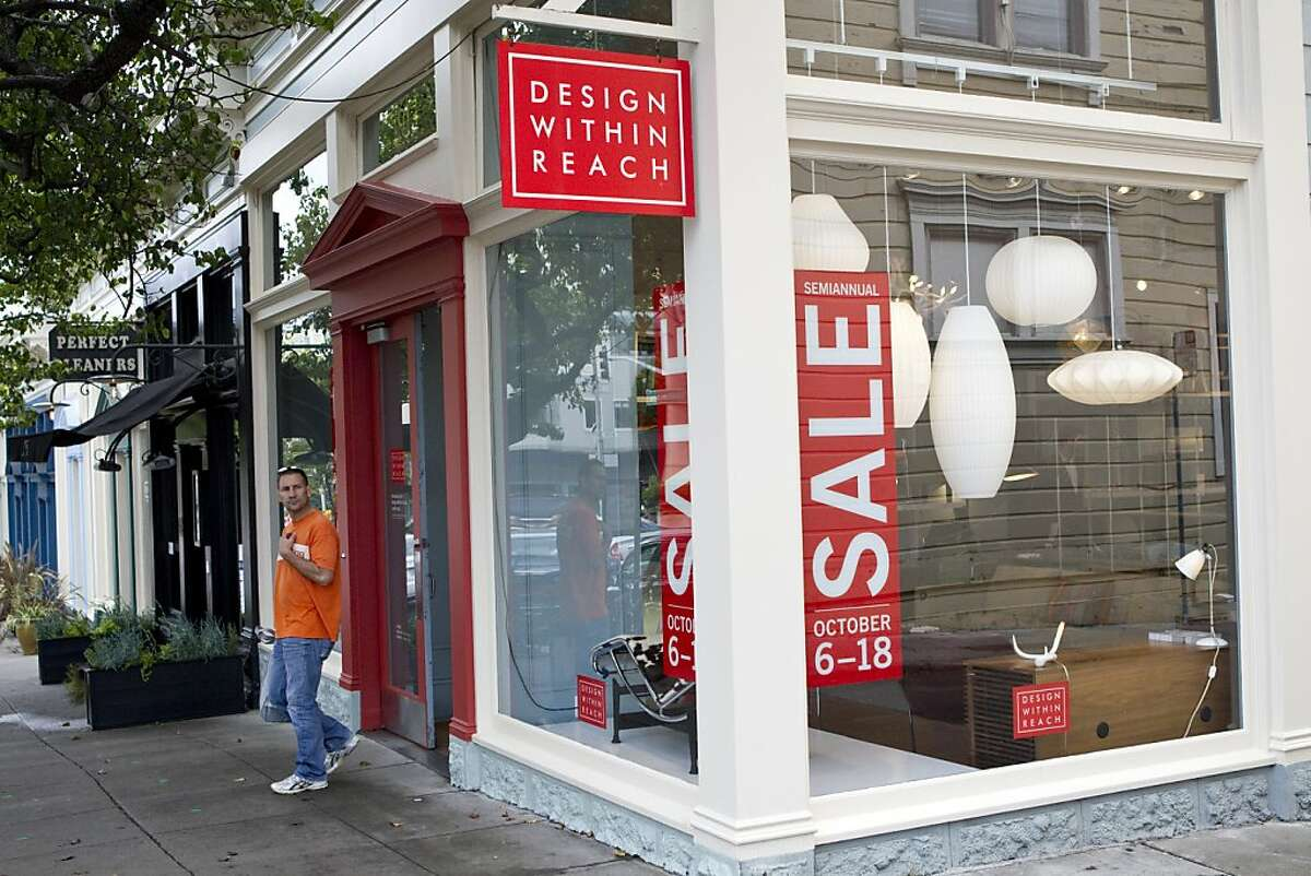 Design Within Reach, located at 1913 Fillmore Street, carries a wide range of modern designer furnishings in San Francisco, Calif., on Thursday, October 6, 2011.