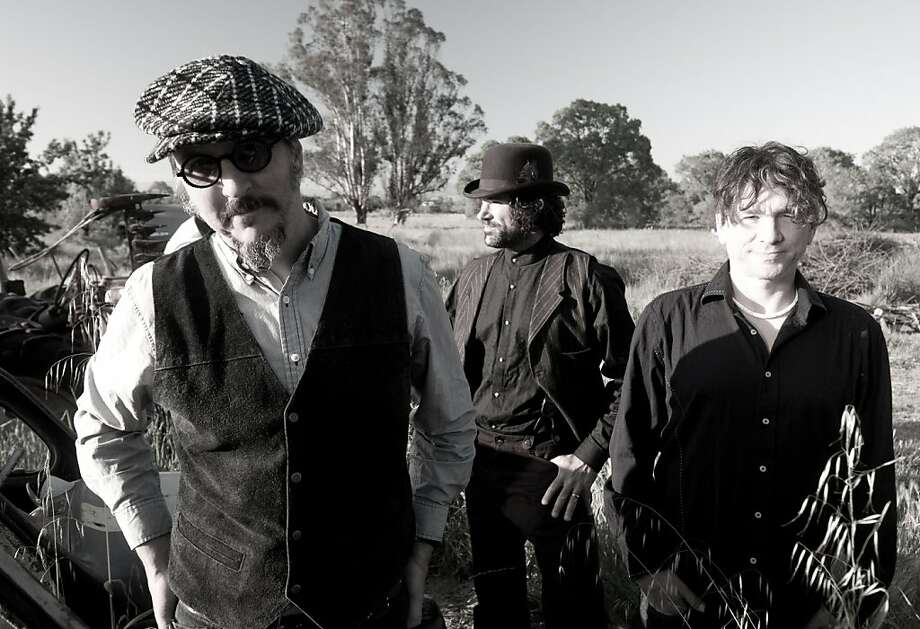 The band Primus: Les Claypool, Jay Lane and Larry LaLonde. Photo: ATO Records 2011