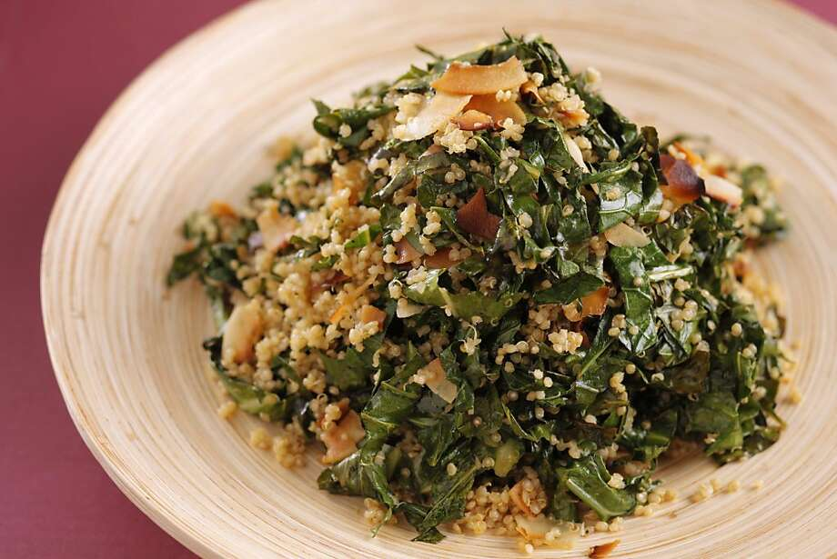 Kale Salad as seen in San Francisco, California, on Wednesday, October 12, 2011.  Food styled by Sophie Brickman. Photo: Craig Lee, Special To The Chronicle