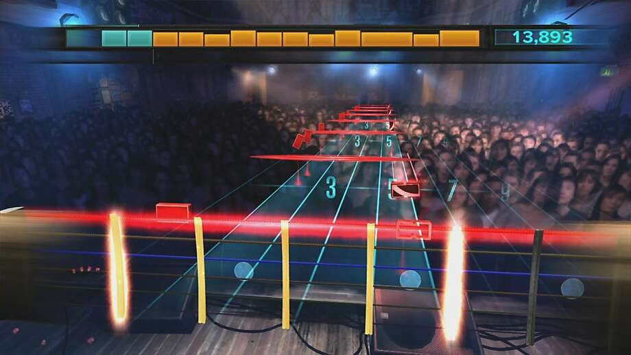 "Ubisoft's new guitar game, ""Rocksmith"" offers a consistently fun and surprisingly helpful guide to learning the instrument.   Ran on: 10-27-2011 A scene from &quo;Rocksmith,&quo; which is available for the PlayStation 3, Xbox 360 and PC. Photo: Ubisoft"