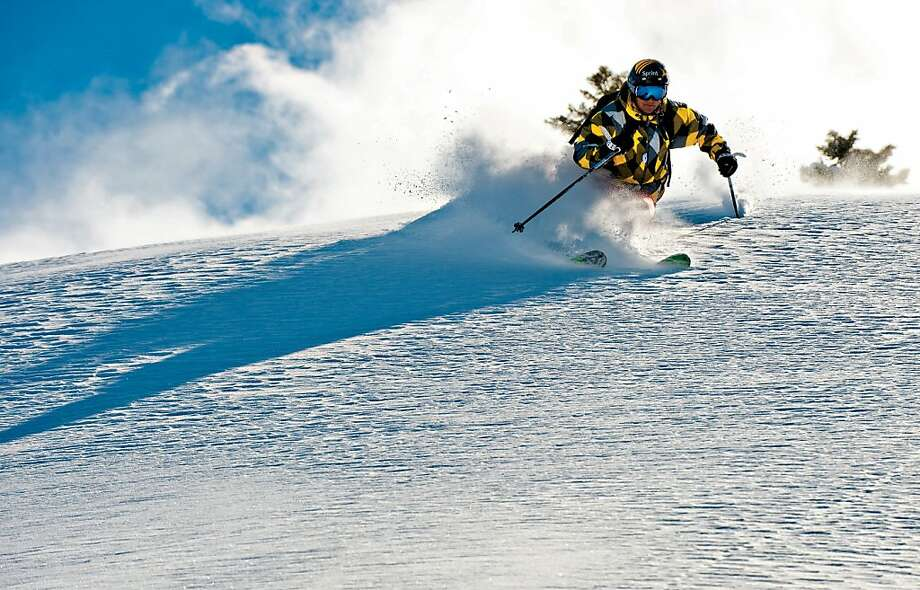 Jonny Moseley is featured in a Warren Miller segment filmed at Squaw Valley. Photo: Keoki Flagg, WME 2011