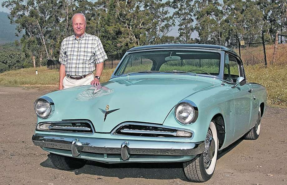 Photos of Joe Kresse and his 1953 StudebakerCommanderCoupe photographed near Edgewood Road in San Mateo County, CA on September 13, 2011 Photo: Stephen Finerty
