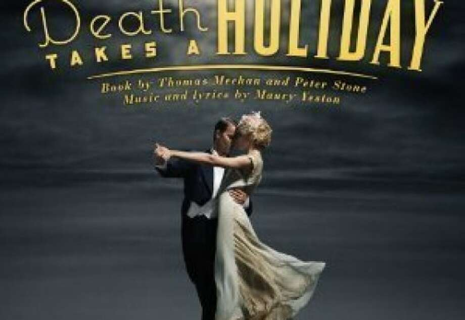 """""""Death Takes a Holiday"""" off-Broadway cast recording CD cover. Photo: PS Classics"""