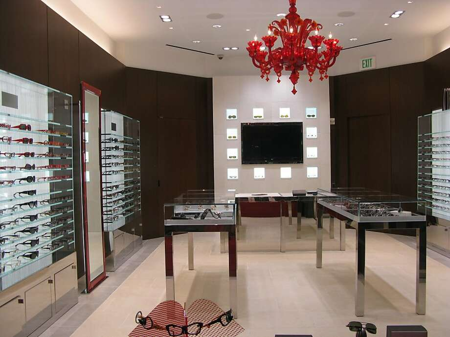 The eyewear store Alain Mikli has opened a new shop at 73 Geary in Union Square. Photo: Courtesy Alain Mikli