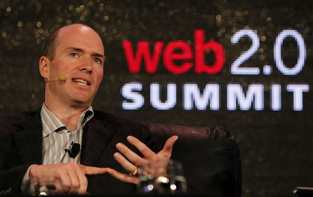 Ben Horowitz, entrepreneur and investor is interviewed by John Heilemann of New York Magazine, Tuesday October 18, 2011, in front of a crowd at the Web2.0 Summit in San Francisco, Calif. Horowitz is best known for co-founding and running the enterprise sotware company Opsware, which is now owned by Hewlett-Parkard. He is now co-founder with Marc Andreessen of a venture capital firm called Andressen-Horowitz.
