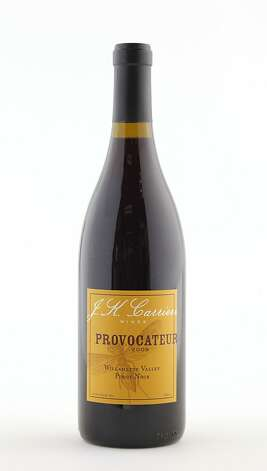 2009 JK Carriere Provocateur Pinot Noir as seen in San Francisco, California, on Wednesday, October 12, 2011. Photo: Craig Lee, Special To The Chronicle