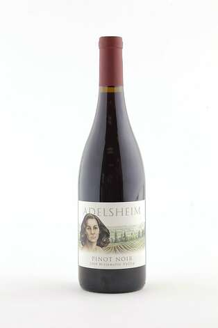 2009 Adelsheim Pinot Noir as seen in San Francisco, California, on Wednesday, October 12, 2011. Photo: Craig Lee, Special To The Chronicle