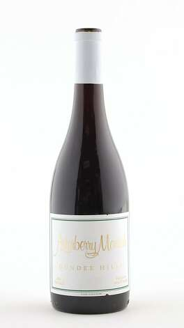 2009 Arterberry Maresh Pinot Noir as seen in San Francisco, California, on Wednesday, October 12, 2011. Photo: Craig Lee, Special To The Chronicle
