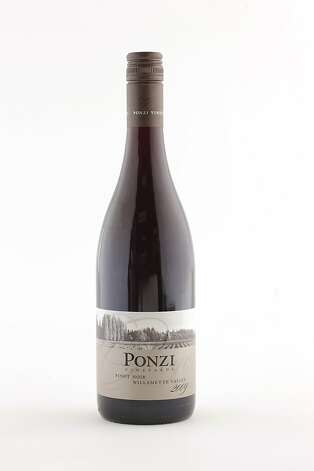 2009 Ponzi Vineyards Pinot Noir as seen in San Francisco, California, on Wednesday, October 12, 2011. Photo: Craig Lee, Special To The Chronicle