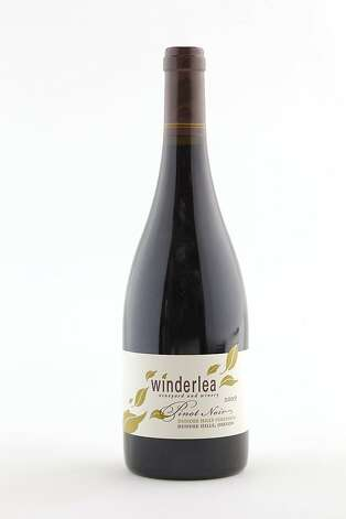 2009 Winderlea Vineyard & Winery Dundee Hills Vineyards Pinot Noir as seen in San Francisco, California, on Wednesday, October 12, 2011. Photo: Craig Lee, Special To The Chronicle