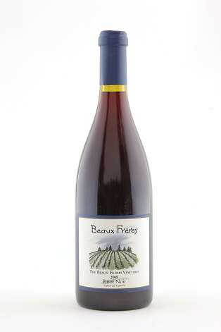 2009 Beaux Freres Beaux Freres Vineyard Pinot Noir as seen in San Francisco, California, on Wednesday, October 12, 2011. Photo: Craig Lee, Special To The Chronicle