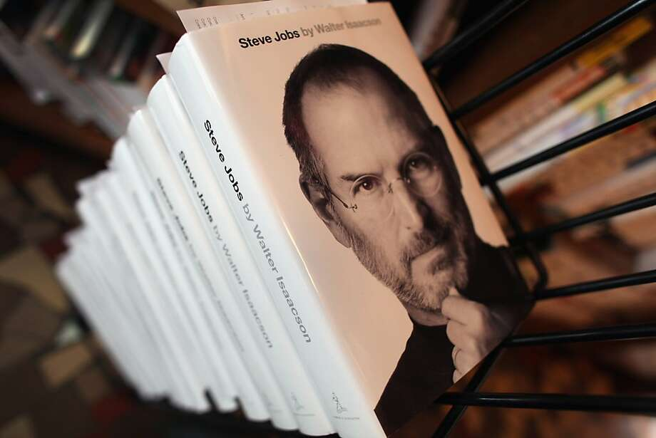 CORAL GABLES, FL - OCTOBER 24: A stack of the newly released biography of Apple co-founder and former CEO Steve Jobs wait for people to pick their pre-ordered copies up at the Books & Books store on October 24, 2011 in Coral Gables, Florida. The book written by Walter Isaacson was slated to be released next year by publisher Simon & Schuster but was pushed up after Jobs died on October 5.  (Photo by Joe Raedle/Getty Images) Photo: Joe Raedle, Getty Images