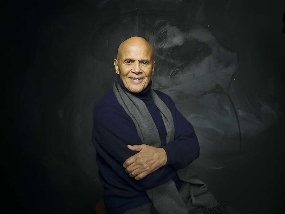 """FILE - In this Jan. 21, 2011 file photo, actor, singer and activist Harry Belafonte from the documentary film """"Sing Your Song,"""" poses for a portrait in the Fender Music Lodge during the 2011 Sundance Film Festival in Park City, Utah.  Belafonte's film premieres Monday, Oct. 17, at 10 p.m. EDT on HBO. (AP Photo/Victoria Will, file)  Ran on: 10-23-2011 Harry Belafonte Ran on: 10-23-2011 Harry Belafonte Photo: Victoria Will, AP"""