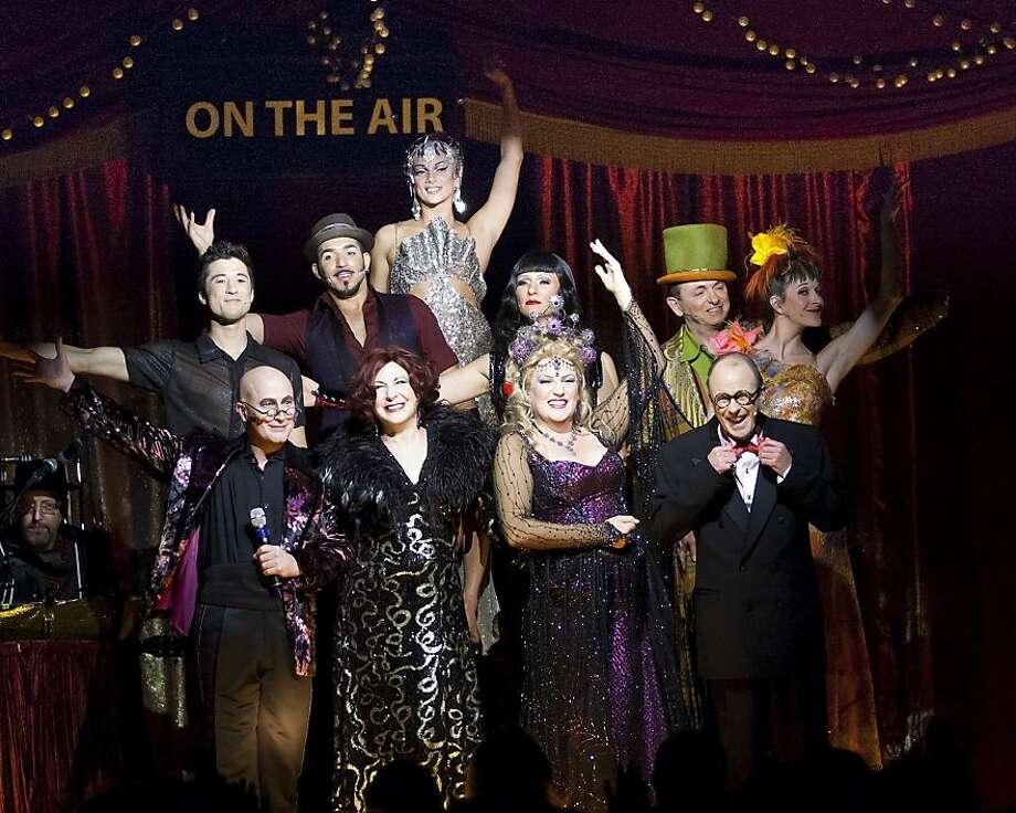 for Teatro ZinZanni.     MKitaoka_9390.jpg : Entire Cast of On The Air (photo credit: Mark Kitaoka Photo: Mark Kitaoka
