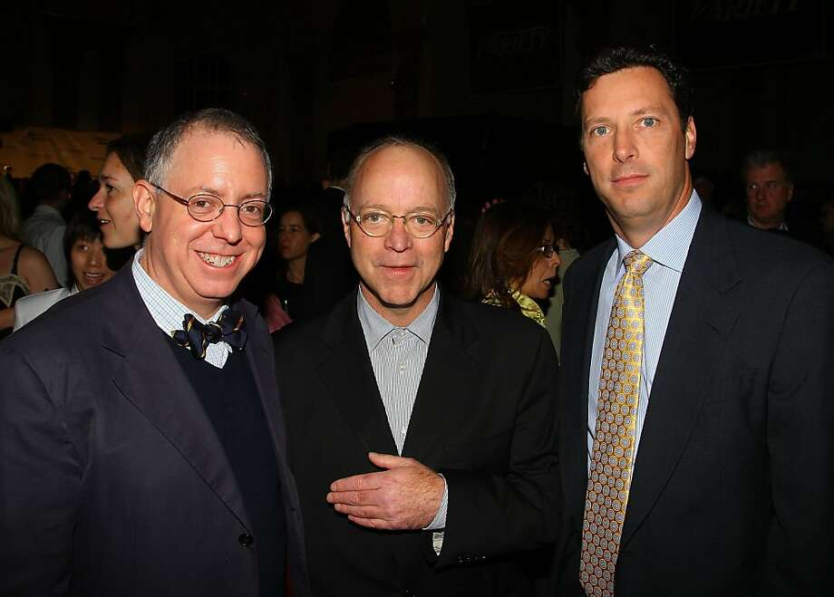 NEW YORK - DECEMBER 02:  Producer James Schamus, President of Sidney Kimmel Bingham Ray, and President of Focus Features Andrew Karpen attend the 18th Annual Gotham Independent Film Awards at Museum of Finance on December 2, 2008 in New York City. Photo: Andrew H. Walker, Getty Images