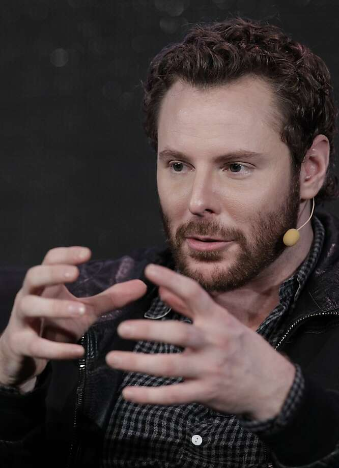 Sean Parker, Chairman of of Causes and a Managing Partner, Founder's Fund, speaks at Web. 2.0 Conference in San Francisco, Monday, Oct. 17, 2011. Parker was co-founder of Napster. (AP Photo/Paul Sakuma) Photo: Paul Sakuma, AP
