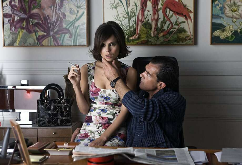 "Left to Right: Elena Anaya as Vera and Antonio Banderas as Doctor Robert Ledgard in, ""The Skin I Live in."" Photo:  JosŽ Haro, Sony Picture Classics"