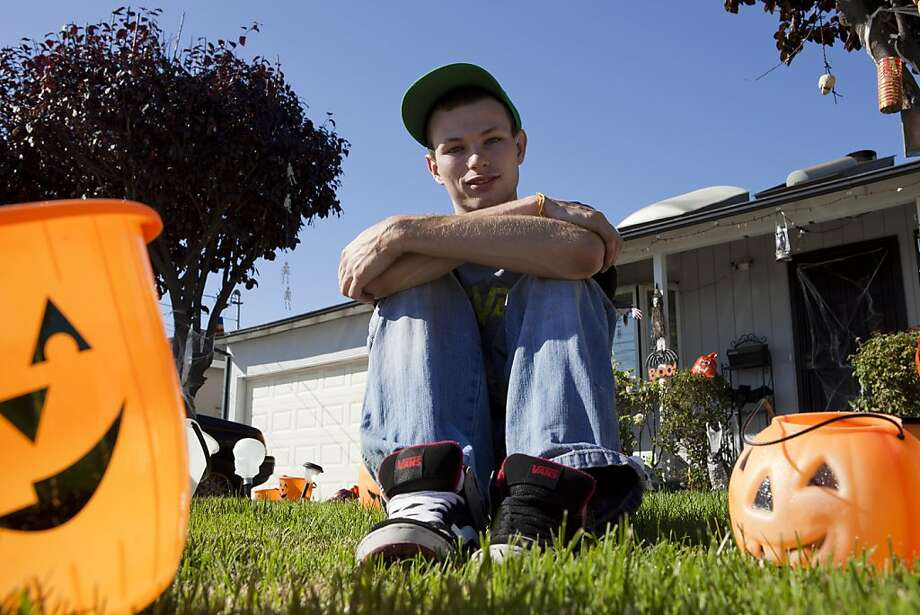 "After six years of operating a free haunted house of his family's home, the City of Fremont has forced Chris Stelle to shut down his ""House of Horror"" for not having the proper permits on Thursday, October 13, 2011 in Fremont, Calif. Photo: John Sebastian Russo, Special To The Chronicle"
