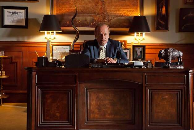 "Kelsey Grammer as Tom Kane in, ""Boss."" Photo: Chuck Hodes, Starz Media"
