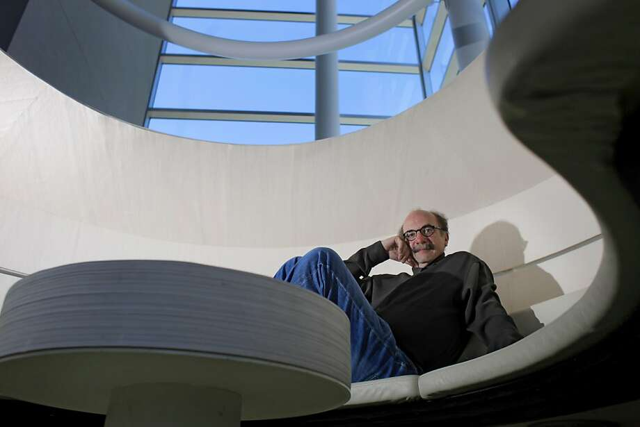 David Kelley, who is considered one of the world's greatest design innovator, sits in an Erg, created by Steelcase, in the lobby of his  design studio IDEO, Tuesday August 9, 2011, in Palo Alto, Calif. Photo: Lacy Atkins, The Chronicle