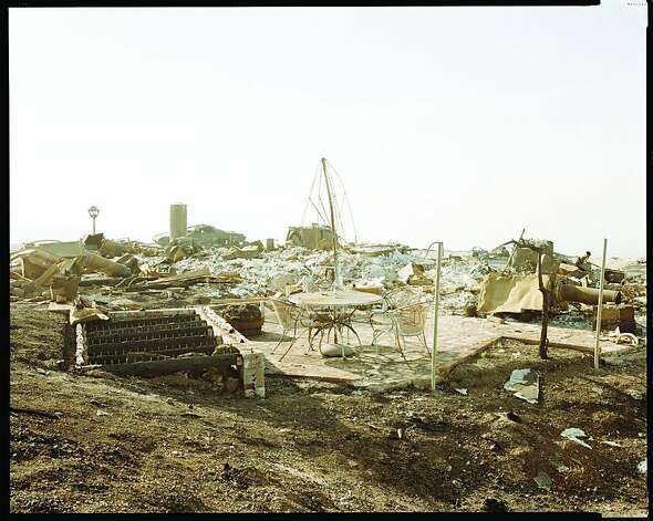 Richard Misrach. Oakland Fire Aftermath, 1991, Edition #112-91.jpg Photo: Richard Misrach, Oakland Museum Of California