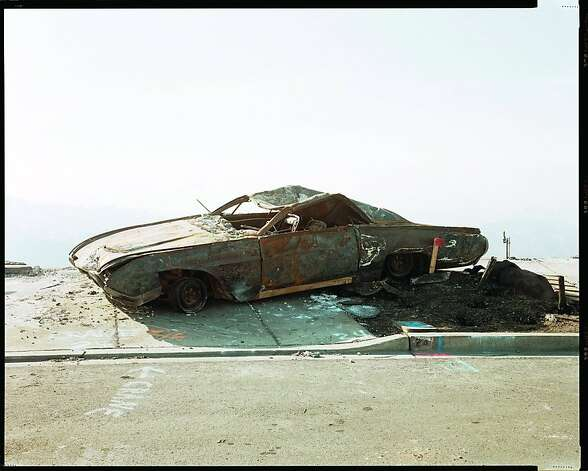 Richard Misrach. Oakland Fire Aftermath, 1991, #115-91.jpg Photo: Richard Misrach, Oakland Museum Of California