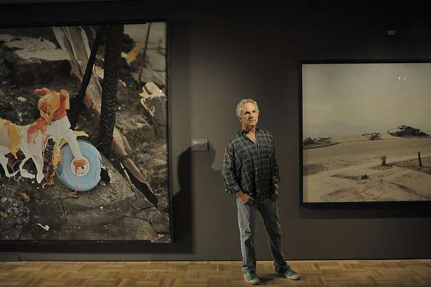 Fine Art landscape photographer Richard Misrach photographed the aftermath of the Oakland fires in 1991 and a show of the work opens at the Oakland museum October 14, 2011. Photo: David Butow