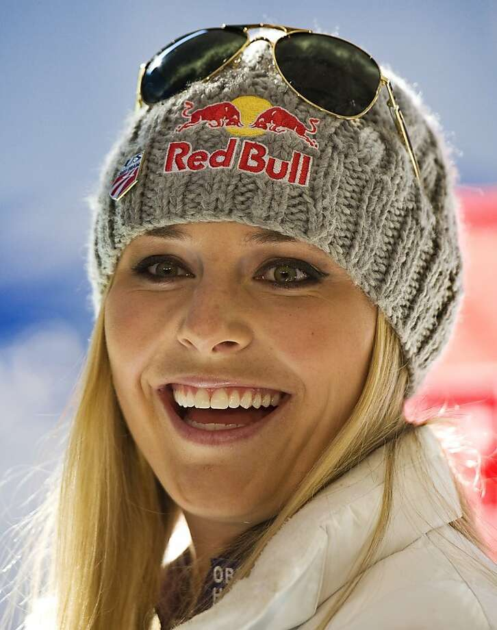 Ski racer Lindsey Vonn from the United States smiles during the presentation of the US ski team in Innsbruck, Austria, Friday Oct. 14, 2011. (AP Photo/Kerstin Joensson) Photo: Kerstin Joensson, AP