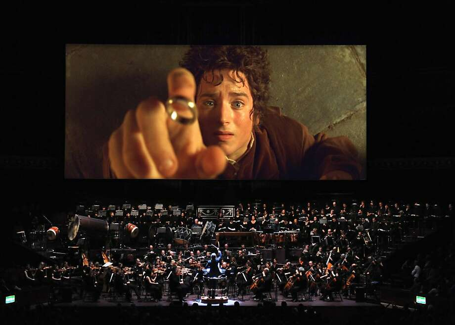 "Scene from ""The Lord of the Rings In Concert: The Fellowship of the Ring."" Photo: The Lord Of The Rings In Concert"