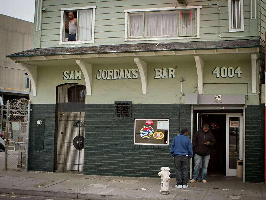 The exterior of Sam Jordan's Bar in San Francisco, Calif., is seen on Tuesday,  October 18, 2011. Photo: John Storey, Special To The Chronicle