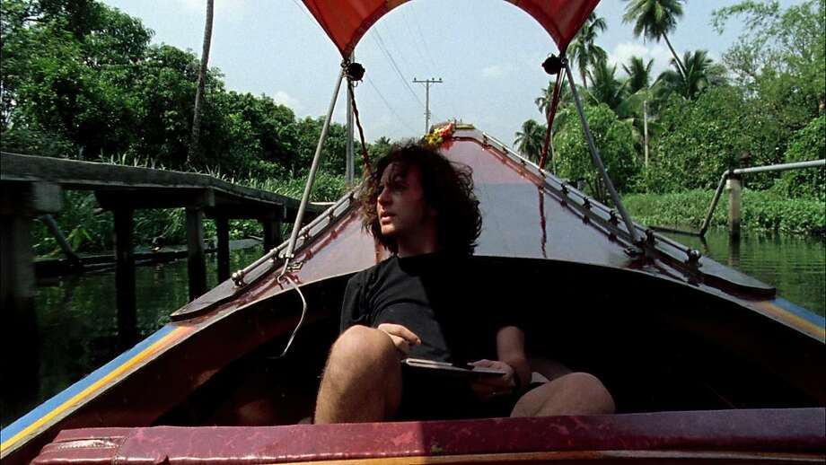 "In honor of Pearl JamÕs twentieth anniversary, award-winning director and music journalist Cameron Crowe creates a definitive portrait of the seminal band in AMERICAN MASTERS ""Pearl Jam Twenty"" Ð premiering Friday, October 21 at 9 p.m. on PBS (check local listings) during the first PBS Arts Fall Festival. Pictured: Eddie Vedder on a boat during Pearl JamÕs East Asia tour, 1995. Photo: Duncan Sharp, PBS"