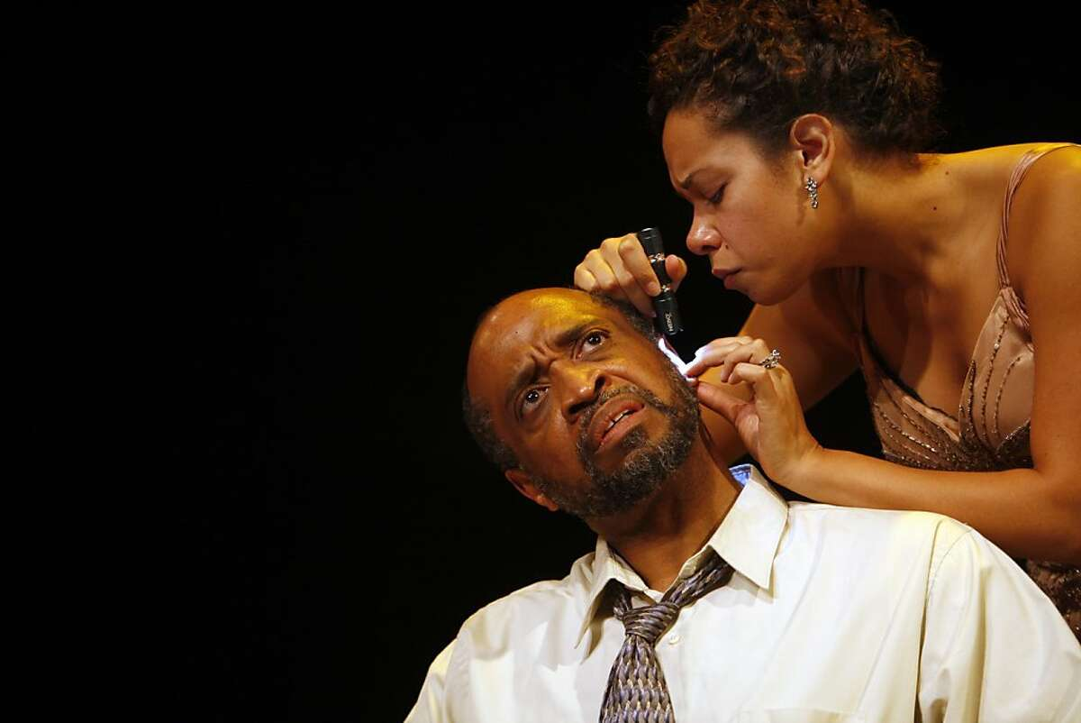 Lorraine Hansberry Theatre (LHT) opens its 31st season with a program of two one-act plays, Almost Nothing by Marcos Barbosa and Day of Absence by Douglas Turner Ward with Steven Anthony Jones, directing in San Francisco, Calif. Oct. 14, 2011. (Image of Almost Nothing)