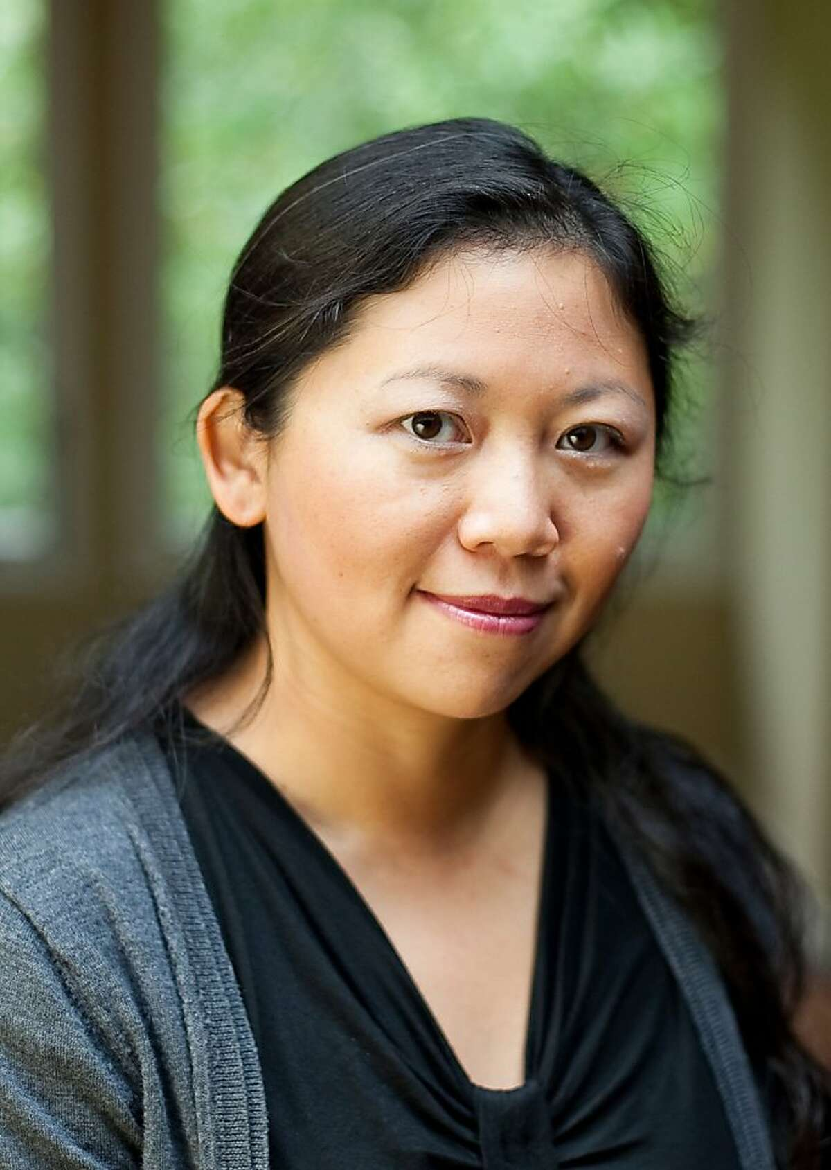 Writer Yiyun Li of Oakland, winner of a MacArthur Foundation