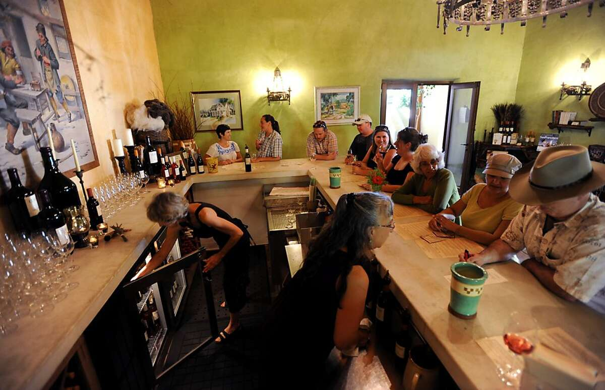 The tasting room at Ceago Vinegarden located in the town of Nice in Lake County. September 3, 2011.