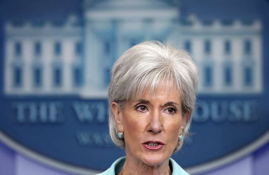 "FILE - In this June 21, 2011, file photo Health and Human Services Secretary Kathleen Sebelius speaks at the White House daily briefing in Washington. In a letter to congressional leaders Friday, Oct. 14, 2011, Sebelius said, ""Despite our best analytical efforts, I do not see a viable path forward for CLASS implementation at this time."" CLASS, the Community Living Assistance Services and Supports program, was a long-term health program, that included not only nursing homes, but such services as home health aides for disabled people.  (AP Photo/Carolyn Kaster, File) Photo: Carolyn Kaster, AP"