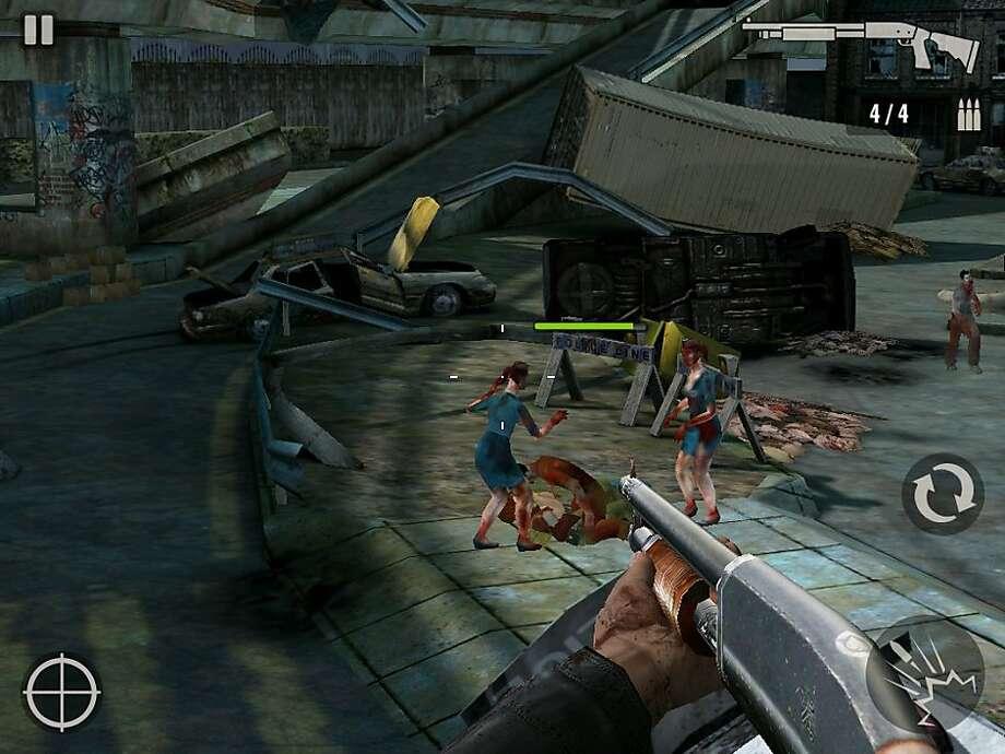 Contract Killer: Zombies, screenshot for AOW17 Photo: Glu Mobile