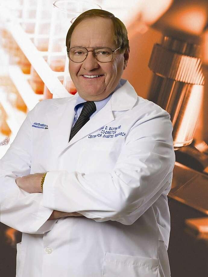 Dr. John Baxter Photo: DeBakey Heart & Vascular Center