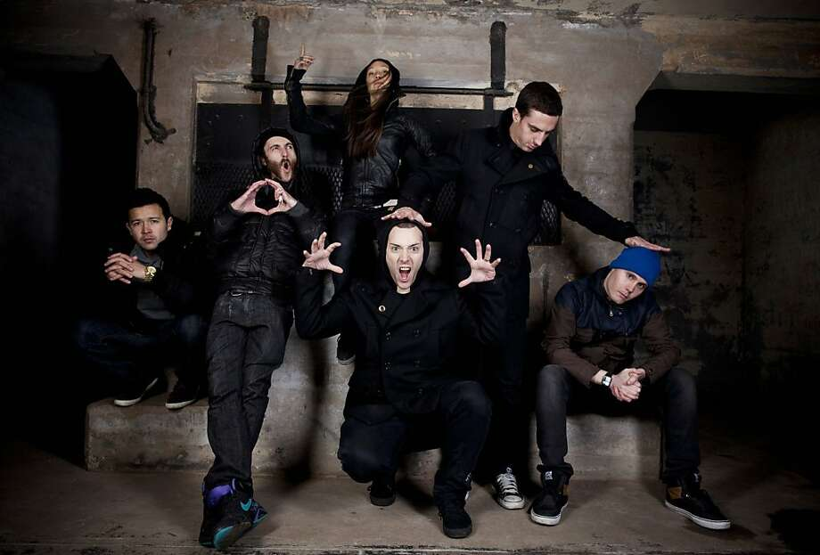 Frite Nite Crew (L-R): B. Bravo, NastyNasty, Ana Sia (top), Salva (bottom), Epcot, Comma Photo: Trevor Traynor