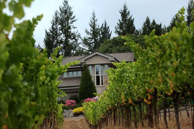 The Kiser family home which overlooks the Kiser vineyard in Philo, California in the Anderson Valley. September 30, 2011 Photo: Erik Castro, Special To The Chronicle