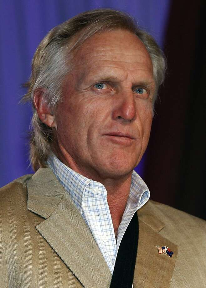 Greg Norman at the Presidents Cup Celebration & Taste of Nations at the Fairmont hotel in San Francisco, Calif., on Thursday, October 8, 2009.   Ran on: 11-01-2009 Greg Norman  Ran on: 10-17-2011 Photo caption Dummy text goes here. Dummy text goes here. Dummy text goes here. Dummy text goes here. Dummy text goes here. Dummy text goes here. Dummy text goes here. Dummy text goes here.###Photo: names17_normanPH1251849600SFC###Live Caption:Greg Norman at the Presidents Cup Celebration & Taste of Nations at the Fairmont hotel in San Francisco, Calif., on Thursday, October 8, 2009.###Caption History:Greg Norman at the Presidents Cup Celebration & Taste of Nations at the Fairmont hotel in San Francisco, Calif., on Thursday, October 8, 2009. ____Ran on: 11-01-2009__Greg Norman###Notes:SF Chronicle-Photographed by Liz Hafalia_**Greg Norman    CQ###Special Instructions:MANDATORY CREDIT FOR PHOTOG AND SF CHRONICLE-NO SALES-MAGS OUT-INTERNET__OUT-TV OUT Ran on: 10-17-2011 Photo caption Dummy text goes here. Dummy text goes here. Dummy text goes here. Dummy text goes here. Dummy text goes here. Dummy text goes here. Dummy text goes here. Dummy text goes here.###Photo: names17_normanPH1251849600SFC###Live Caption:Greg Norman at the Presidents Cup Celebration & Taste of Nations at the Fairmont hotel in San Francisco, Calif., on Thursday, October 8, 2009.###Caption History:Greg Norman at the Presidents Cup Celebration & Taste of Nations at the Fairmont hotel in San Francisco, Calif., on Thursday, October 8, 2009. ____Ran on: 11-01-2009__Greg Norman###Notes:SF Chronicle-Photographed by Liz Hafalia_**Greg Norman    CQ###Special Instructions:MANDATORY CREDIT FOR PHOTOG AND SF CHRONICLE-NO SALES-MAGS OUT-INTERNET__OUT-TV OUT Photo: Liz Hafalia, The Chronicle