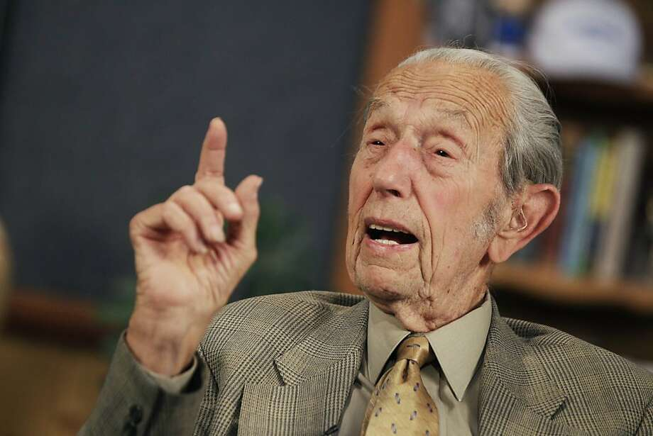 In this May 23, 2011 photo, Harold Camping speaks during a taping of his show Open Forum in Oakland, Calif. Camping, the California radio preacher who predicted that the end of the world would take place last month, has suffered a stroke. The Oakland Tribune reports that 89-year-old Camping was hospitalized after suffering the stroke Thursday, June 9, 2011, at his Alameda home. (AP Photo/Marcio Jose Sanchez)  Ran on: 06-14-2011 Harold Camping's new date for the rapture is Oct. 21, 2011. Photo: Marcio Jose Sanchez, AP