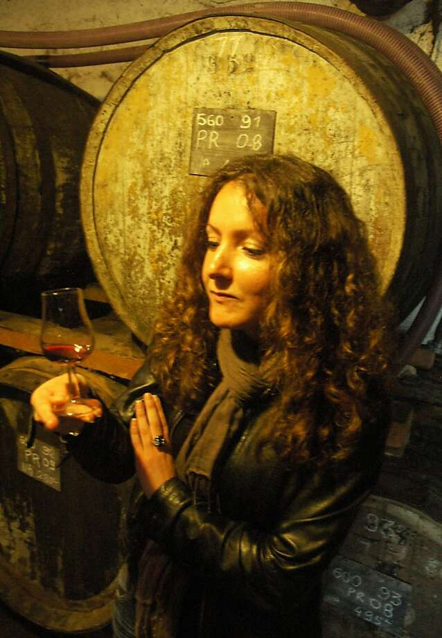Cellar-tasting cognac straight out of the barrel is a tasty treat. Photo: Bill Fink, Special To The Chronicle