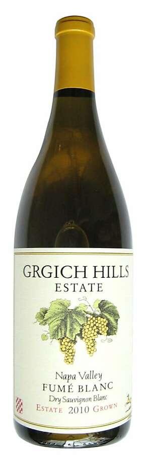 2010 Grgich Hills Fumé Blanc Photo: Erick Wong
