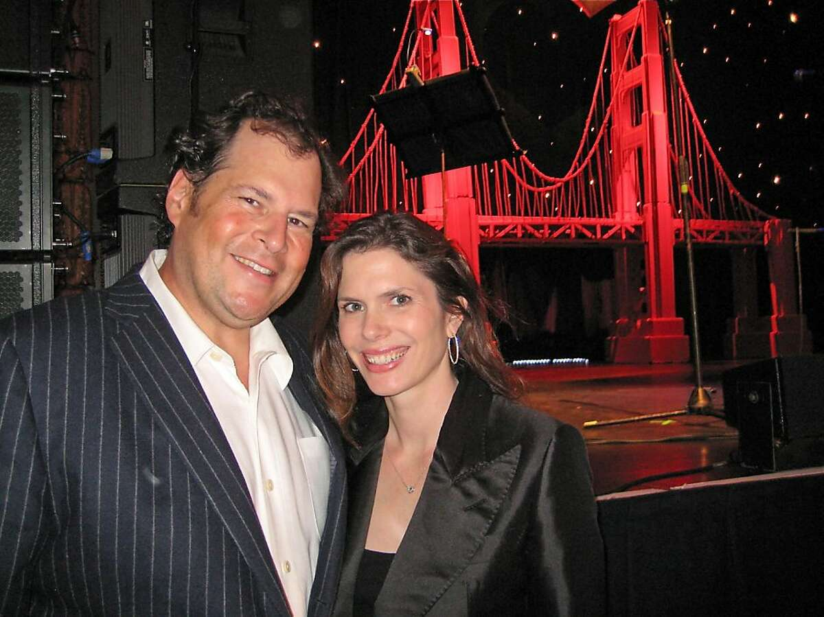 Salesforce.com founder Marc Benioff and his wife, philanthropist Lynne Benioff, served as honorary Heart of Gold gala co-chairs. Oct. 2011. By Catherine Bigelow